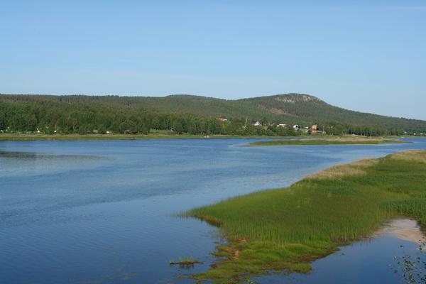 Шведская Лапландия. Эверкаликс.Река Каликс