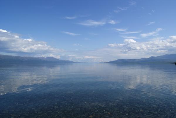 Шведская Лапландия. озеро Турнетреск