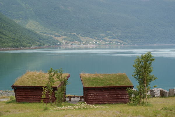 Традиционная кровля в Северной Норвегии