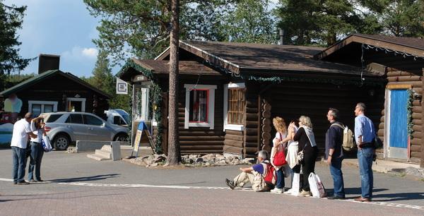 Финляндия, Поместье Санта-Клауса. Полярный круг