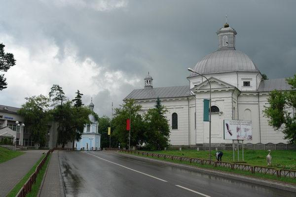 Щучин, Александровский костел с монастырем пиаров