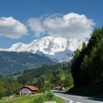 Через швейцарско-французские Альпы: огибая вершины