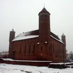 Польша. Миколайки зимой. Часть 2. Замки в Решеле и Линдзбарке Варминском
