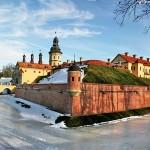 Панорамы несвижского замка