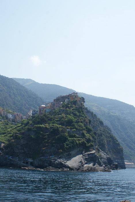 5 земель - Cinque Terre, Вид с моря