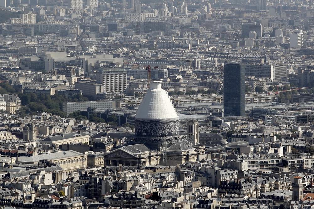 Париж, Пантеон вид с Монпарнаса 2014 год