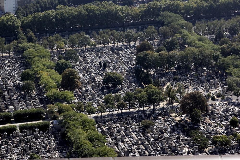 Париж, кладбище