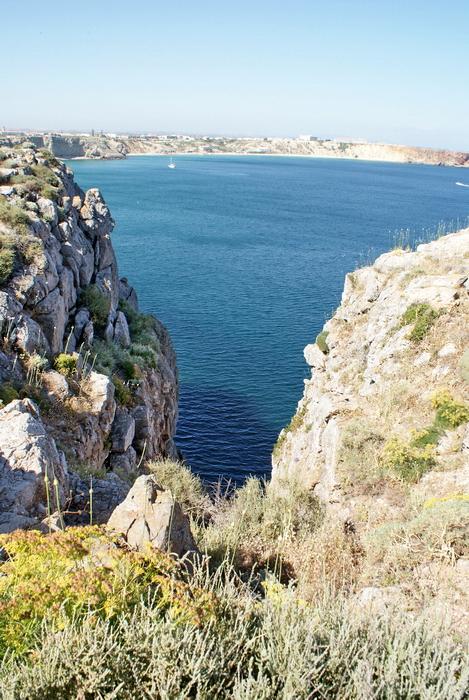 скалистые берега атлантики