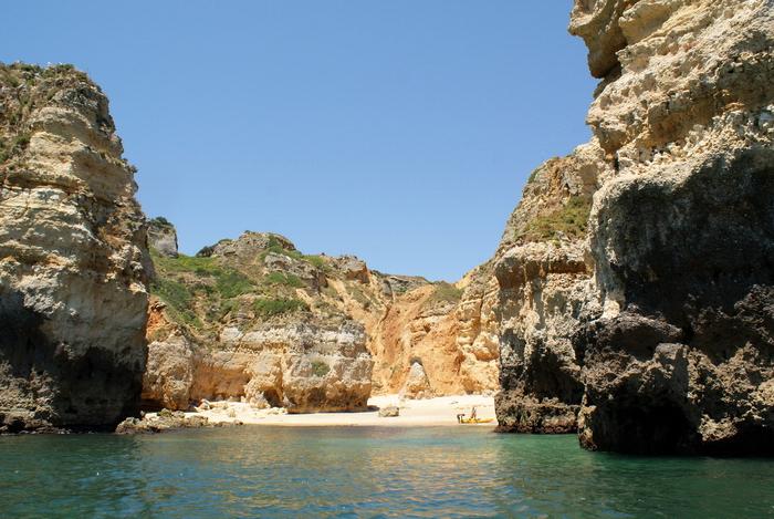 водные прогулки, катание на лодке в Португалии