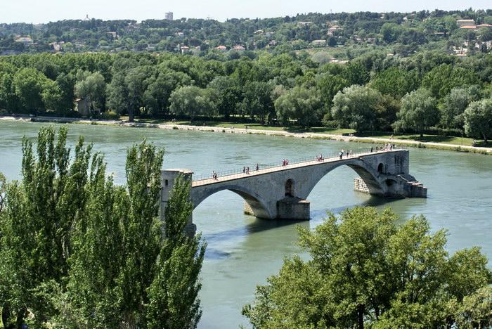 Авиньонский мост Pont d'Avignon