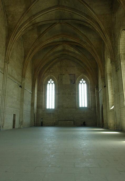 Дворец Пап в Авиньоне