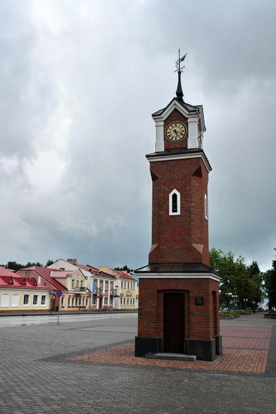 Щучин, Центральная площадь, Противопожарная башня-оберег