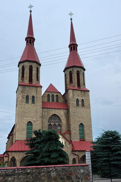 Зельва Троицкий костел