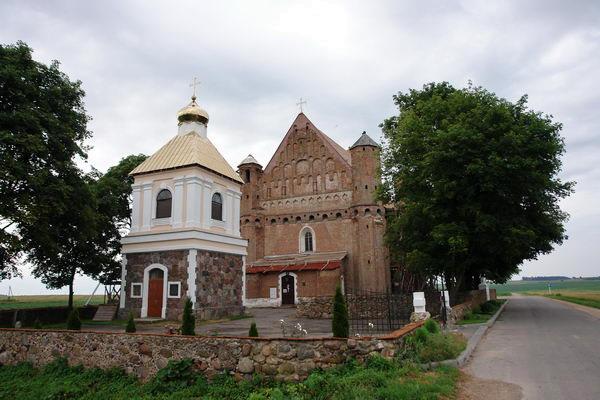 Сынковичская церковь-крепость св. Михаила Архангела. Белорусские храмы-крепости