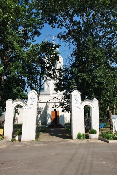 Дисна. Воскресенская церковь