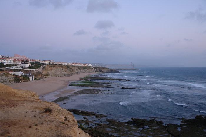 Португалия. Океан и закат в Эрисейре