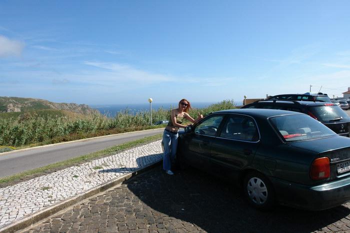 Suzuki Baleno Самая западная точка Европы