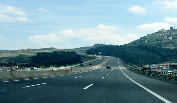 автострады в окрестностях лиссабона