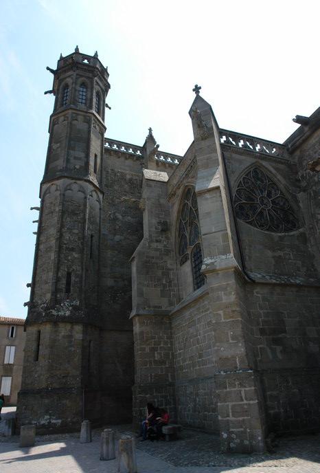замок Каркассона , готика