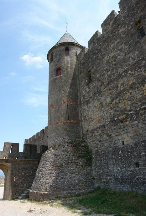 Дворец в Каркассоне