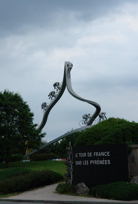 памятник Тур де Франс