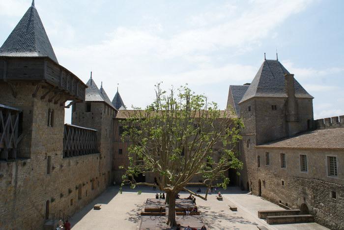 замок Каркассона