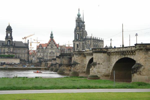 Дрезден, АугустБрюке