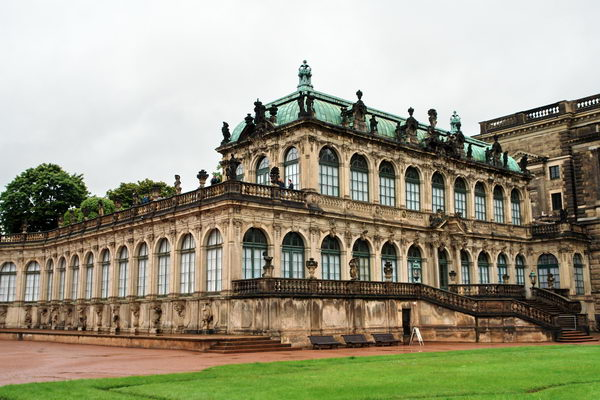 Дрезден, Цвингер, Германский Павильон