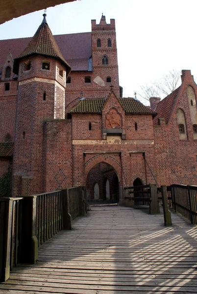Мальборк, Верхний замок