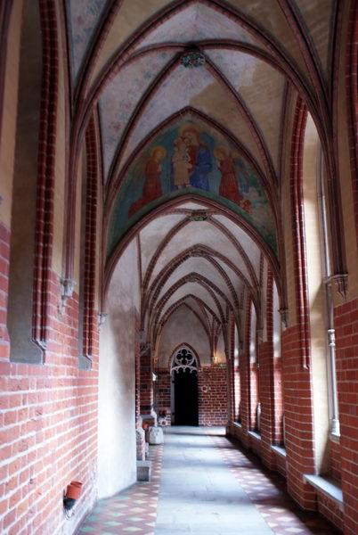 Мальборк, Верхний замок, фрески