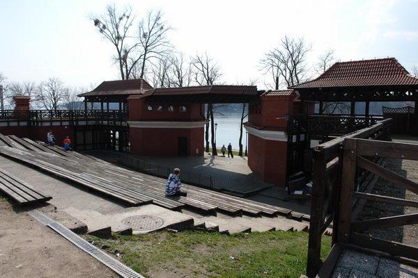 Мазурские озера, Миколайки, театр под открытым небом
