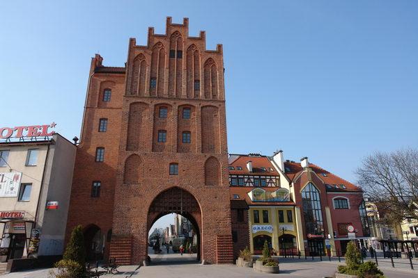Ольштын, Городские ворота