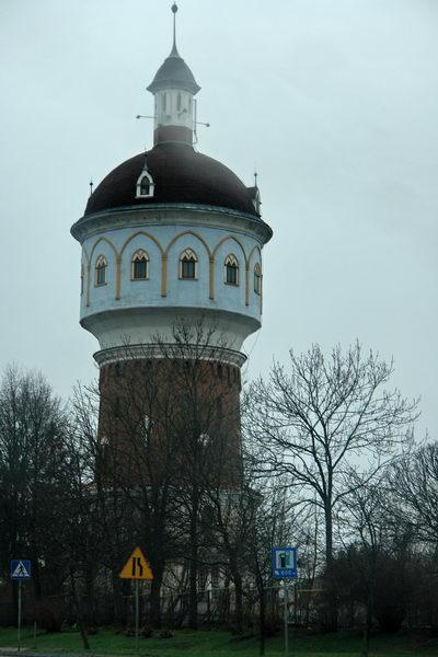 Элк, водонапорная башня