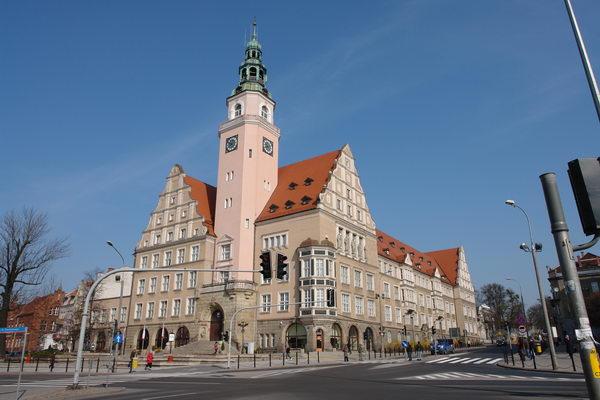 Ольштын, ратуша