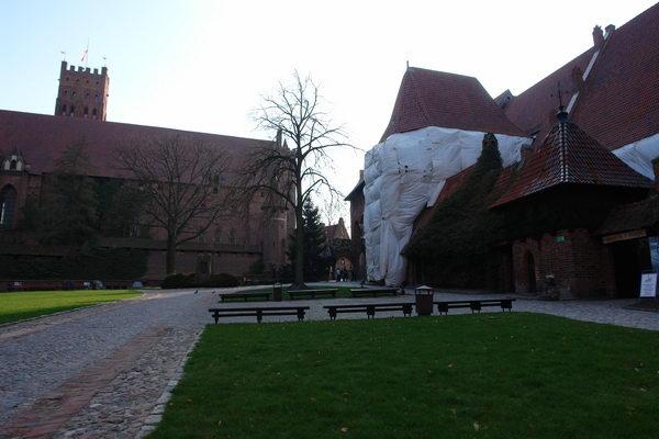 Мальборк, Средний замок