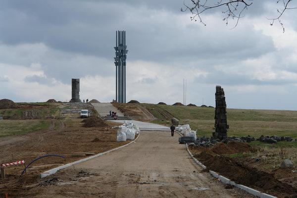 Грюнвальд поле битвы,стройка