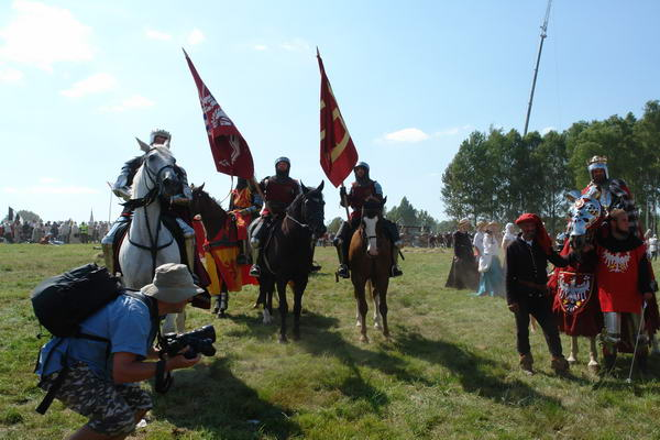 Средневековый фестиваль в Грюнвальде