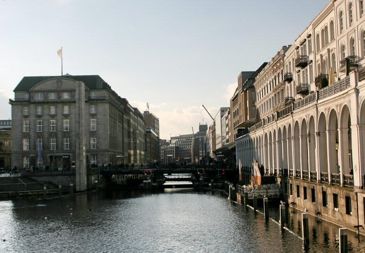 Каналы Гамбурга