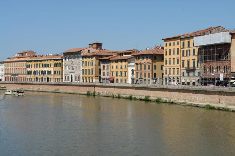 Пиза, река
