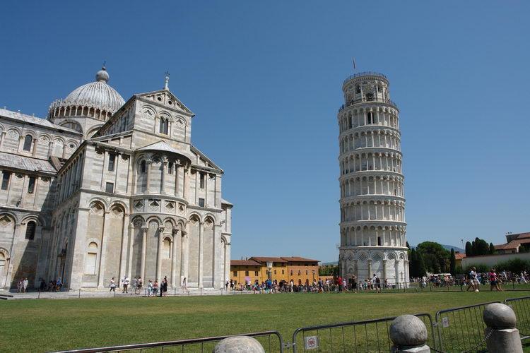 Пиза, собор и колокольня