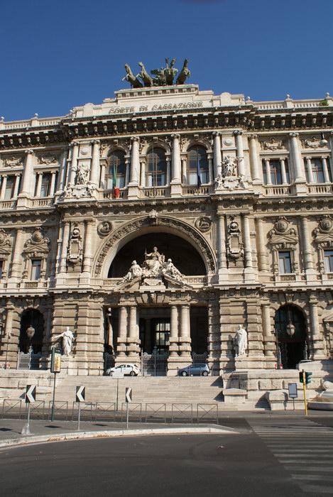 Рим, Дворец Правосудия