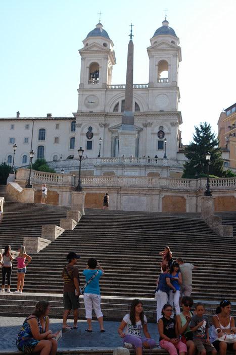 Рим, церковь св. Троицы на горе