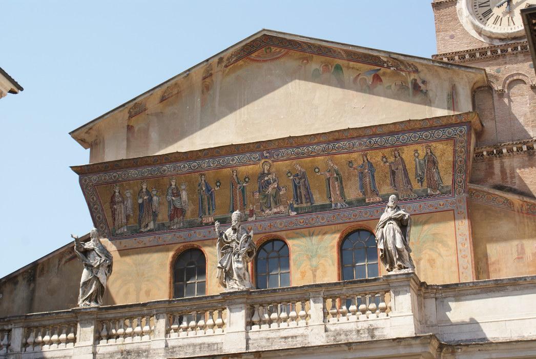 Рим, св. Марии на Трастевере