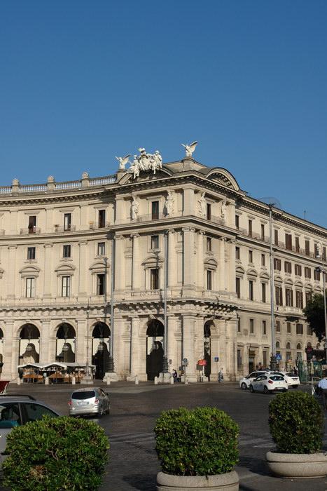 Рим, район вокзала Термини