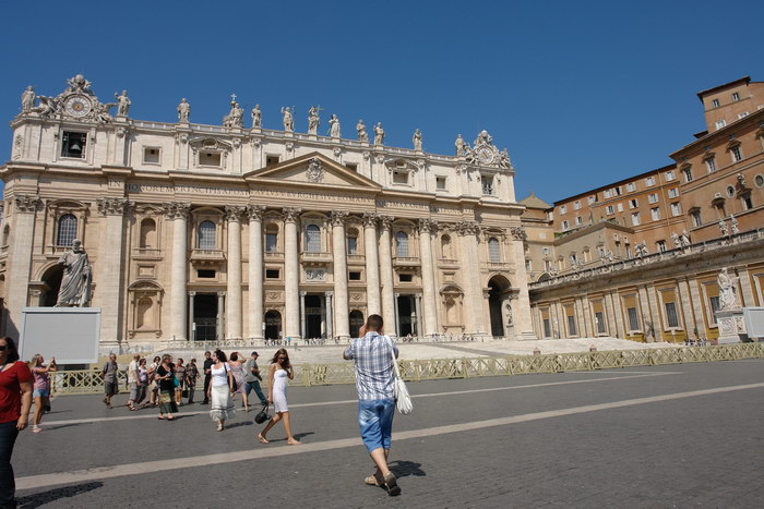 Рим, площадь св. Петра