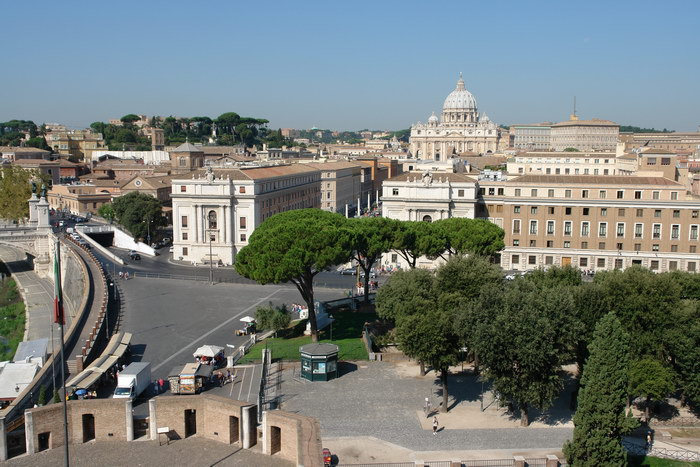 Рим, замок св. Ангела