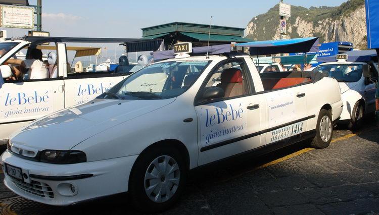 остров Капри, такси