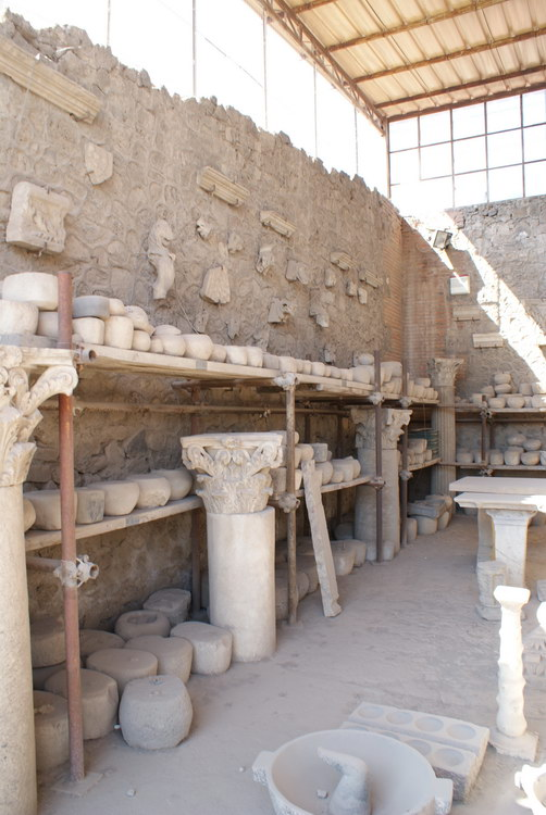 Помпеи. керамика