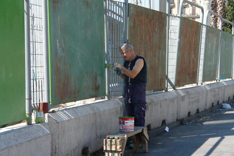 Неаполь, чуваки на вокзале