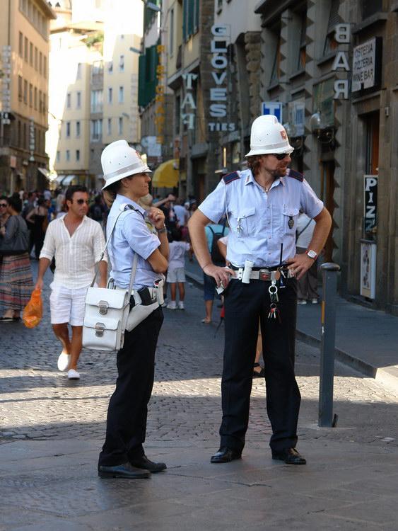 Флоренция, полиция